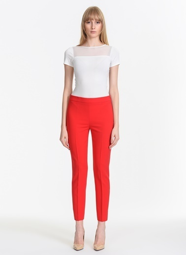 Moschino Pantolon Kırmızı